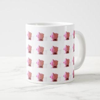 Jumbo Pink Piggy Mug