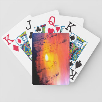 Jumbo playing cards with Original painting