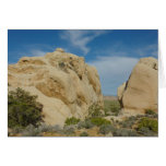 Jumbo Rocks at Joshua Tree National Park Card