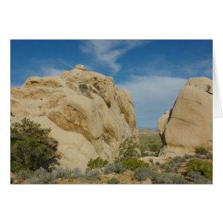 Jumbo Rocks at Joshua Tree National Park Card