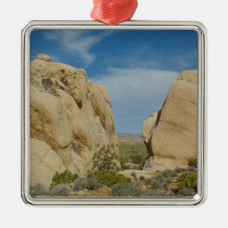 Jumbo Rocks at Joshua Tree National Park Metal Ornament