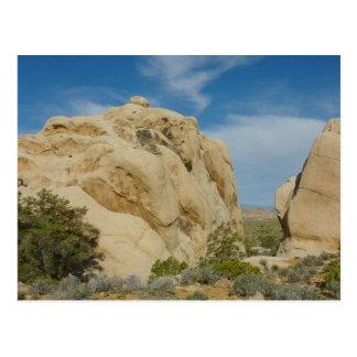 Jumbo Rocks at Joshua Tree National Park Postcard