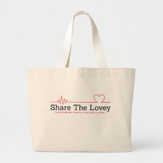 Jumbo Share The Lovey Tote bag