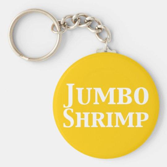 Jumbo Shrimp Keychain