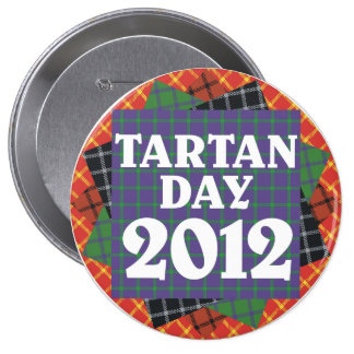 Jumbo Tartan Day 2012 Button