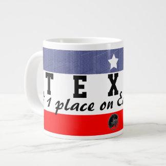 Jumbo Texas the Place to be Giant Coffee Mug