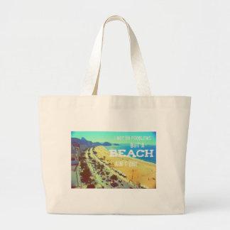 Jumbo Tote Bag - 99 problems but a beach ain't one
