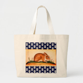 Jumbo Tote BUNNIES AND CARROTS