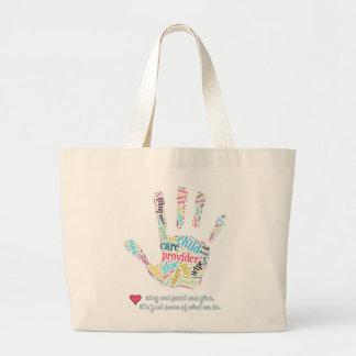 Jumbo Tote Child Care Provider