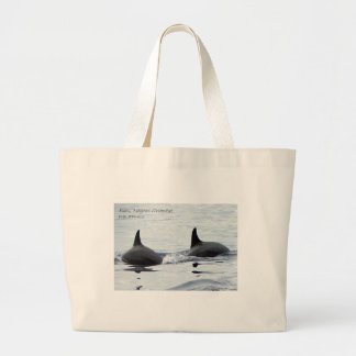 Jumbo Tote - Dolphins in Bais, Negros Oriental Bags