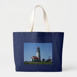 Jumbo Tote--Lighthouse Large Tote Bag