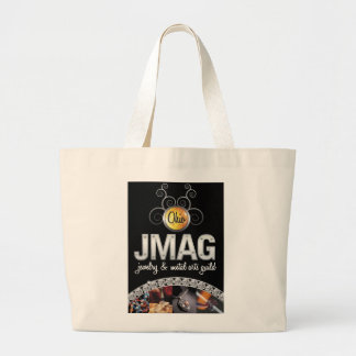 Jumbo Tote with the black OJMAG logo