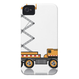 Jumbo Truck lift iPhone 4 Case-Mate Case