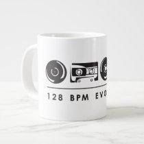 Jumbo White Mug - 128BPM Evolution