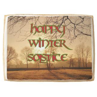 Jumbo Winter Sun Shortbread Cookie Winter Solstice