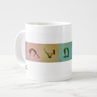 Jumbo Yoga Chakra Mug Extra Large Mug