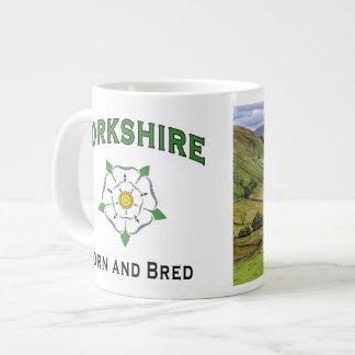 Jumbo Yorkshire Born and Bred Mug Extra Large Mug