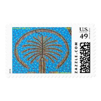 Jumeirah Palm City, DUBAI by Metin Bereketli Postage Stamp