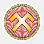 Jumis Icon Round Sticker