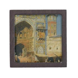 Jumma Musjed Lahore India by Edwin Lord Weeks Jewelry Box