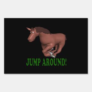 Jump Around Signs