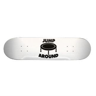 Jump Around Trampoline Skate Deck