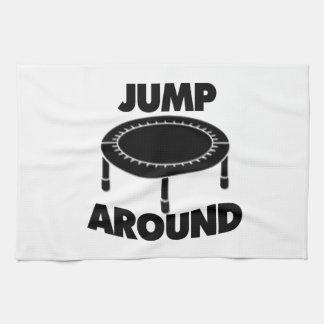 Jump Around Trampoline Towels