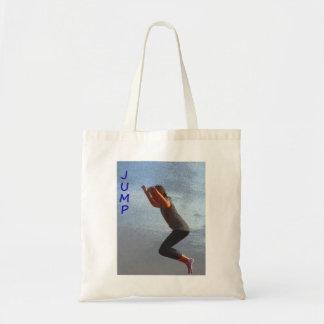 Jump Budget Tote Bag
