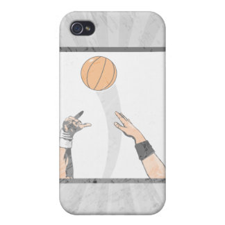 jump ball basketball design cover for iPhone 4