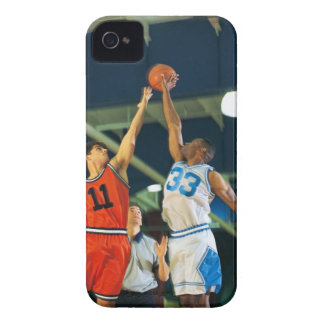 Jump ball in basketball game iPhone 4 Case-Mate case