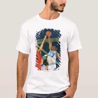 Jump ball in basketball game T-Shirt