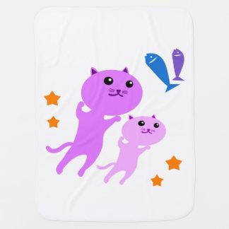 Jump Cat Stroller Blanket