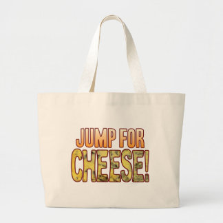 Jump For Blue Cheese Large Tote Bag