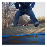 Jump for Colon & Colorectal Cancer Print