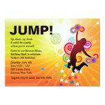 """Jump for Joy Bounce House Invitation 5"""" X 7"""" Invitation Card"""
