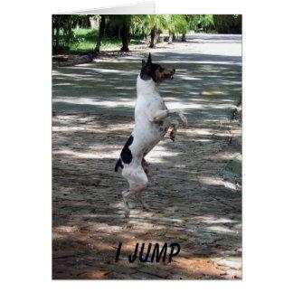 Jump For Joy Greeting Card