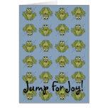 Jump For Joy Card
