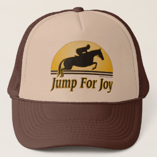 Jump For Joy Equestrian Cap
