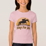 Jump for Joy Girls Baby Doll Fitted Shirt