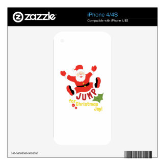 Jump For Joy Skin For iPhone 4S