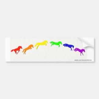 Jump for Pride Bumper Sticker