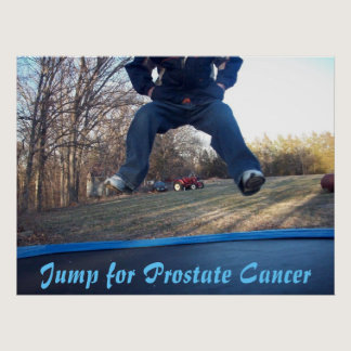 Jump for Prostate Cancer Poster