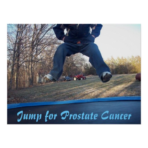 Jump for Prostate Cancer Poster