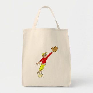 Jump for the catch tote bag