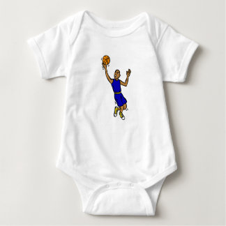 Jump for the shot baby bodysuit