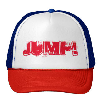 """JUMP!"" Hard rock trucker cap Trucker Hat"