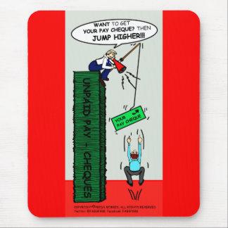 JUMP HIGHER brilliant sarcastic cartoon Mouse Pad