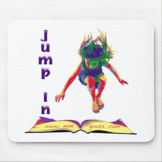 Jump In Mouse Pad