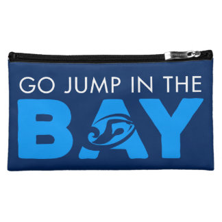 Jump in the bay cosmetic bag