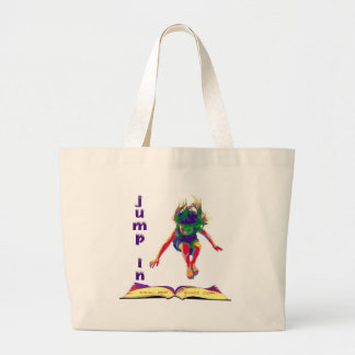 Jump In Tote Bag